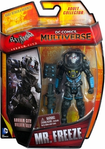 DC Comics Multiverse 4 Inch Action Figure Mr. Freeze [Arkham City] New!