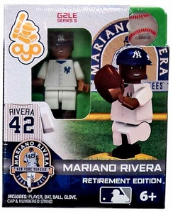OYO Baseball MLB Generation 2 Building Brick Minifigure Mariano Rivera [New York Yankees] Retirement Edition!