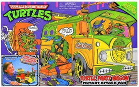 Teenage Mutant Ninja Turtles 2013 Retro Collection Vehicle Turtle Party Wagon [Mutant Attack Vehicle]