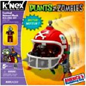 Plants Vs. Zombies K'NEX Set Football Mech Pre-Order ships August