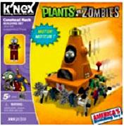 Plants Vs. Zombies K'NEX Set Cone Pre-Order ships September