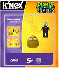Plants Vs. Zombies K'NEX Set Walnut Bowling Pre-Order ships August