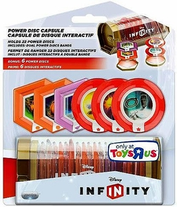 Disney Infinity EXCLUSIVE Power Disc Capsule [6 Exclusive Power Discs]