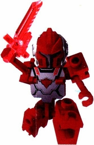 Tenkai Knights LOOSE Minifigure Red Tenkai Trooper