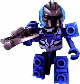 Tenkai Knights LOOSE Minifigure Blue Tenkai Trooper