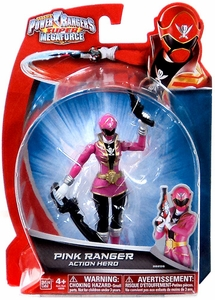 Power Rangers Super Megaforce Basic Action Figure Pink Ranger New!