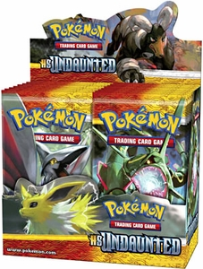 Pokemon Undaunted (HS3) Booster BOX [36 Packs]