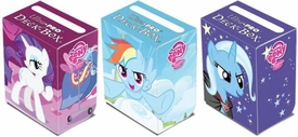 My Little Pony Ultra Pro Set of 3 Deck Boxes [Trixie, Rainbow Dash & Rarity]