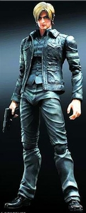 Resident Evil 6 Play Arts Kai 9 Inch Action Figure Leon Kennedy Pre-Order ships March
