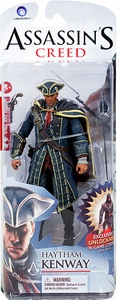 McFarlane Toys Assassin's Creed Series 1 Action Figure Haytham Kenway [Unlocks Dark Blue Outfit for Edward]
