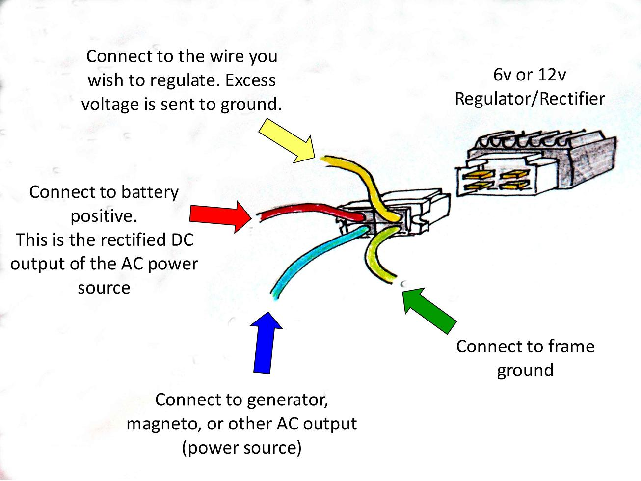 pin rectifier wiring diagram image wiring diagram 4 pin regulator rectifier wiring diagram jodebal com on 4 pin rectifier wiring diagram
