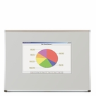 Projection Plus Multimedia Dry Erase Markerboard 4'H x 6'W