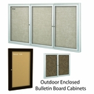 Outdoor Enclosed Bulletin Board Cabinets