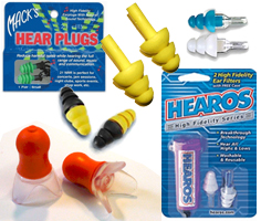 Consumer Packaged Reusable Ear Plugs