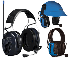 2-Way Communication Ear Muffs (built in radio)