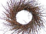 "Beech Twig Wreath (6"" Ring) 12-16"" OD (price includes s&h)"