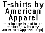 American Apparel T-shirts