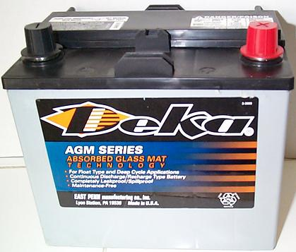 12 Volt Toyota Prius Battery For 2001 2003 With