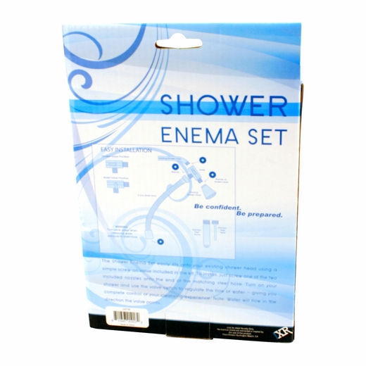 Clean Stream Shower Enema Set