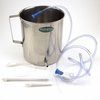 2 Liter Stainless Steel Enema Bucket Kit