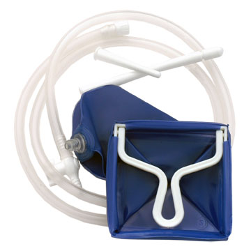 A Fountain Syringe - An enema bag with no top