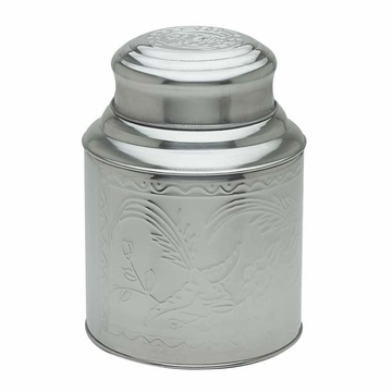 Large Stainless Steel Tea Canister (10.6 oz - 17.3 oz)