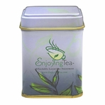 Small EnjoyingTea Square Canister (0.7 oz - 1.1 oz)