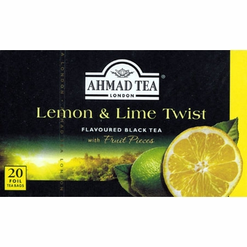 Ahmad Lemon & Lime Flavoured Black Tea