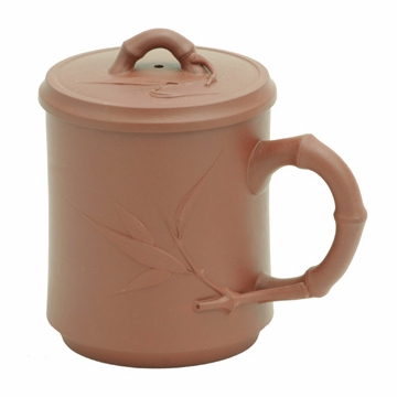 Bamboo Yixing Clay Mug