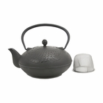 Large Fish Cast Iron Teapot