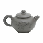 Bamboo Yixing Clay Teapot