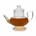 Gentle Breeze Straining Glass Teapot