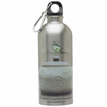EnjoyingTea Stainless Steel Water Bottle (600mL)