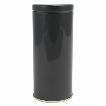 Round Interior Seal Black Canister (3.1 oz - 5 oz)