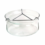 Large Glass Teapot Warmer