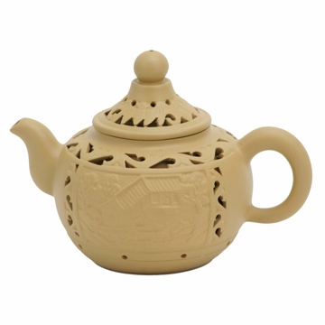 Traditional Double Wall Yixing Clay Teapot