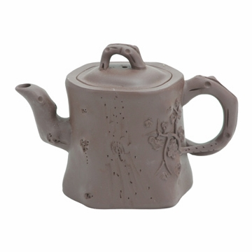 Tree Stump Yixing Clay Teapot