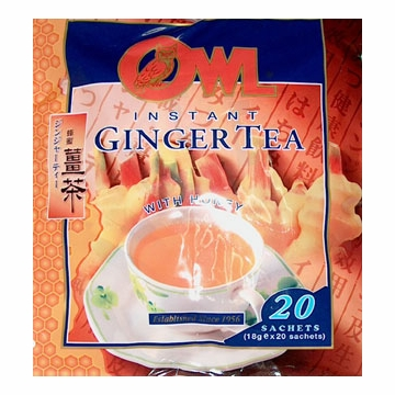 Instant Ginger Honey Tea
