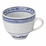 Blue & White Chinese Cup with Handle