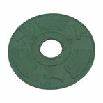 Green Dragonfly Cast Iron Trivet