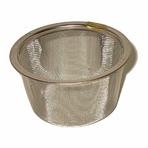 "Replacement Stainless Steel Mesh Infuser for Cast Iron Teaware (2 3/8"" - 2 3/4"" dia, 1 1/2"" ht)"