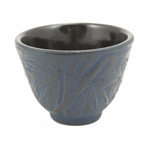 Blue Bamboo Cast Iron Teacup