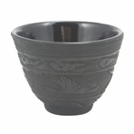 Black Crane Iron Cast Teacup