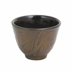 Bronze Bamboo Cast Iron Teacup
