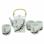 Japanese Cherry Blossom Tree Tea Set