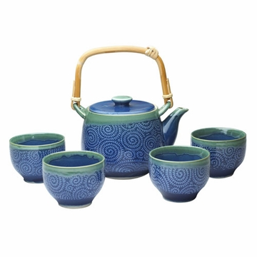 Japanese Samurai Tea Set