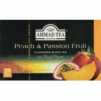 Ahmad Peach & Passion Fruit Flavoured Black Tea