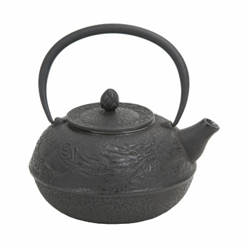 Large Dragon Cast Iron Teapot