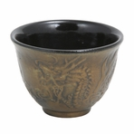 Bronze Dragon Cast Iron Teacup