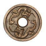 Bronze Dragon Cast Iron Trivet